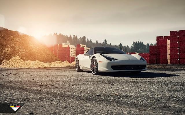 2015 Vorsteiner Ferrari 458 Italia