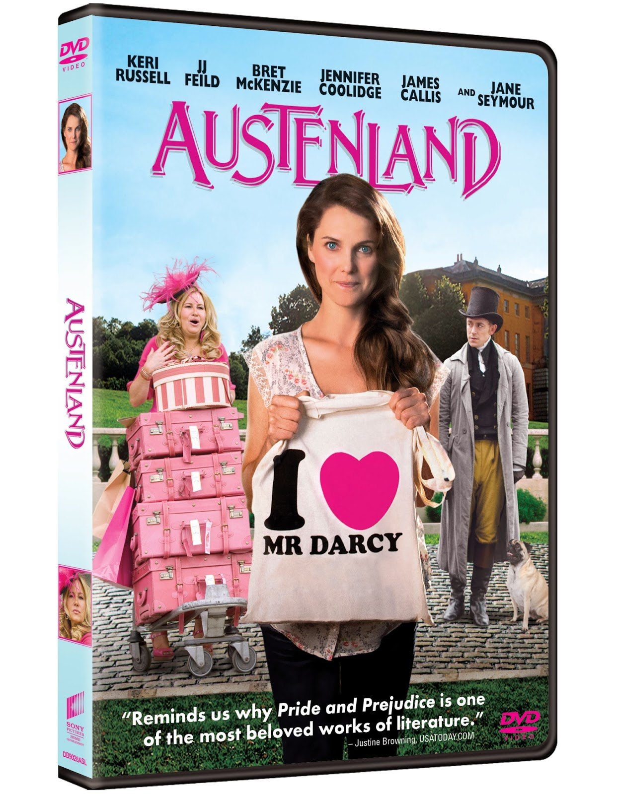 Austenland: DVD Review and Giveaway