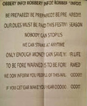 robbers letter lagos residents