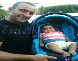 احمد السقا مع أبنته جومانة.... أخر العنقود