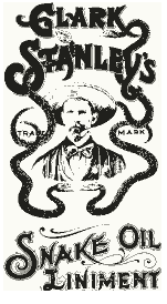 Clark Stanley's Snake Oil Liniment ~ Public Domain Image