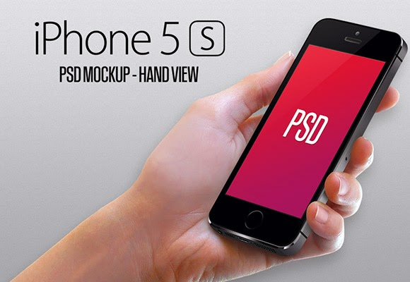 iPhone5S Hand View