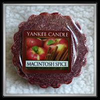 Yankee Candle  macintosh spire