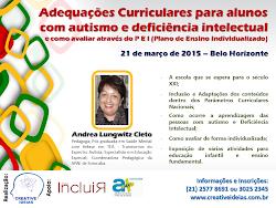 Adequações Curriculares para alunos com autismo e deficiência intelectual