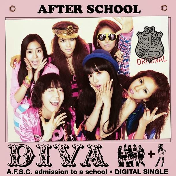 [Single] After School – Diva [FLAC Web]