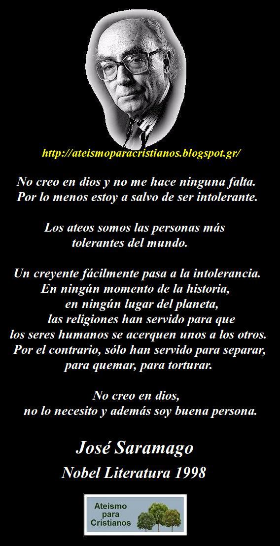 Frases Célebres Ateas José Saramago Apuntes Y Monogr En Taringa