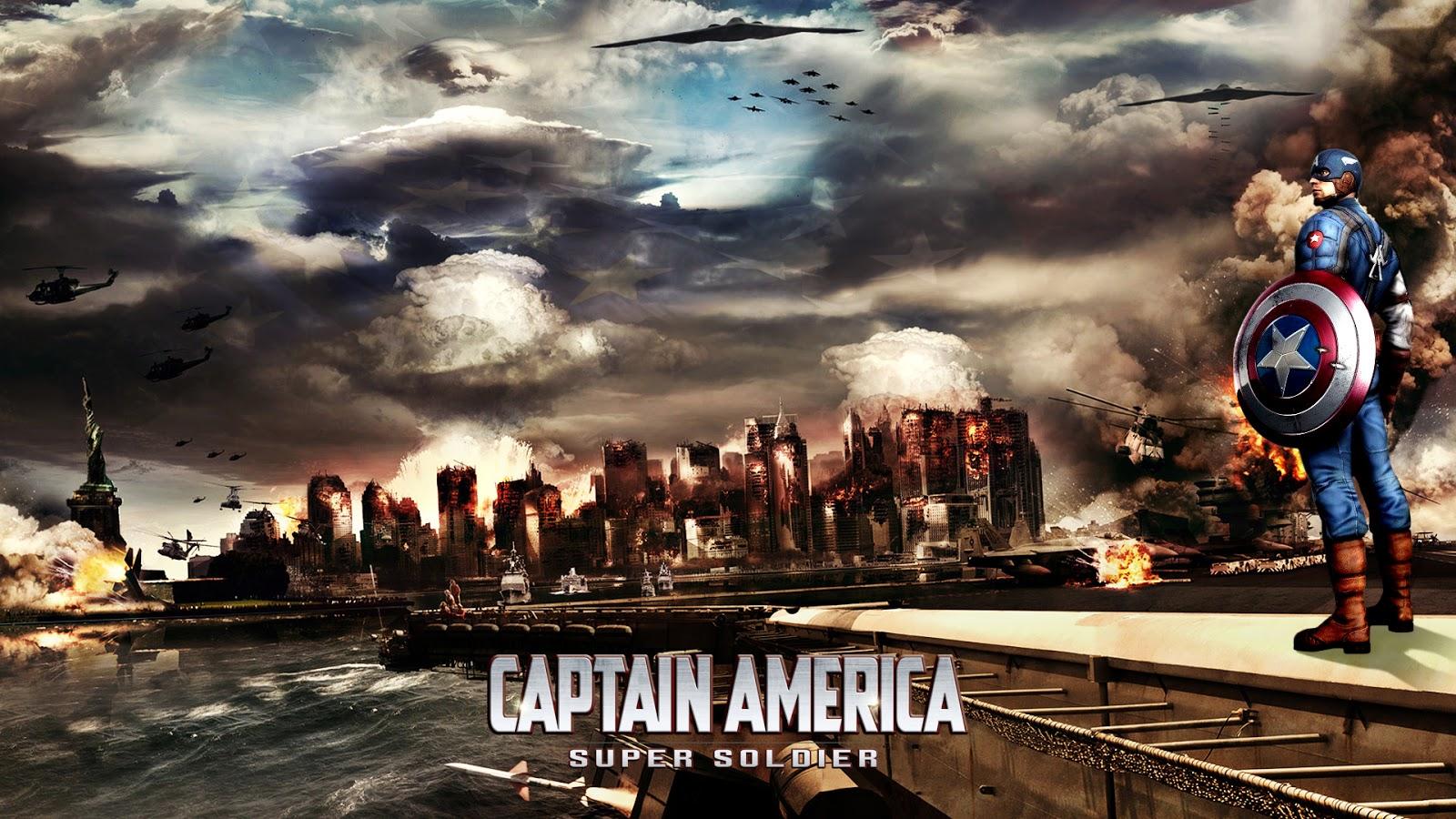 Super Soldier Captain America HD Pics