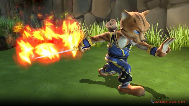 Legend Of Kay Anniversary Gameplay Screenshot 1