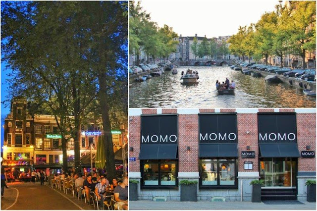 Leidseplein – Canales en Amsterdam - Restaurante Momo en Amsterdam