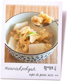 Sopa peixe seco