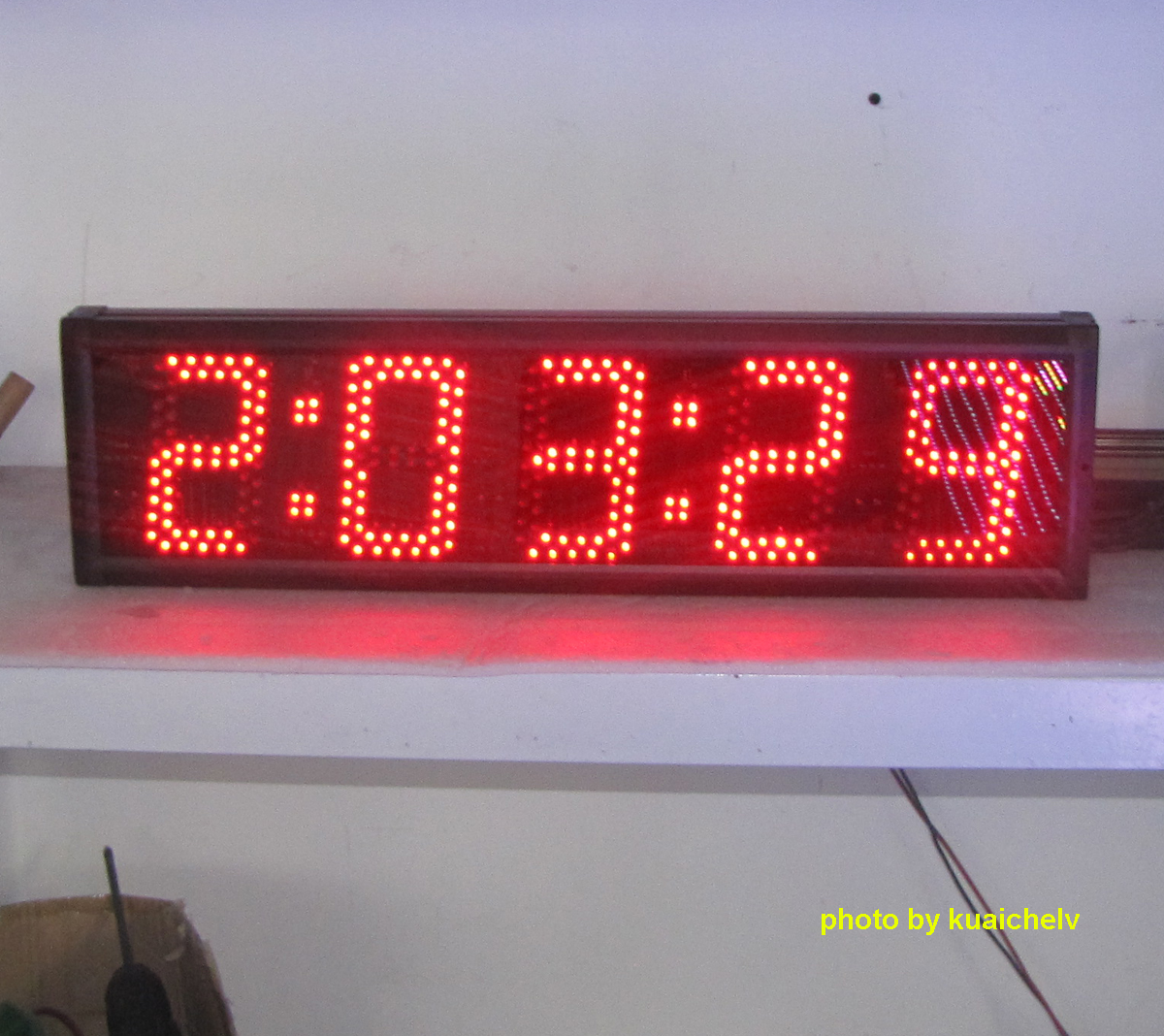 LED Race Clock | Large LED Countdown Timer