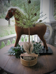 topiary tree with an early pantry box