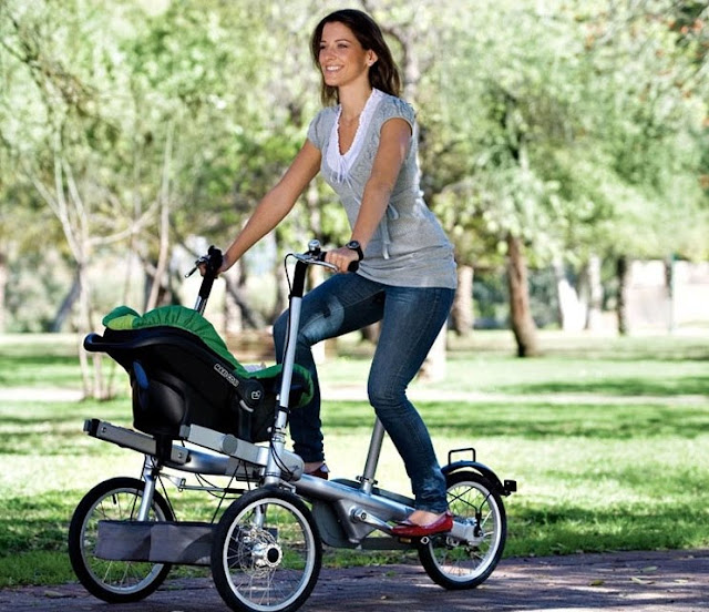 TagaTrike bicicleta com bebê conforto blog Mamãe de Salto ==> imagem retirada da internet