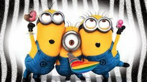 English lesson with minions