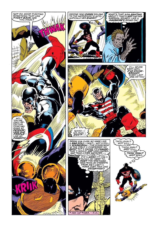 Captain America (1968) Issue #386 #319 - English 18