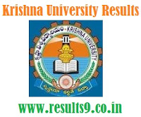 Krishna University LLB, MED, B.TECH, EBK, ELI Courses RESULTS 2013