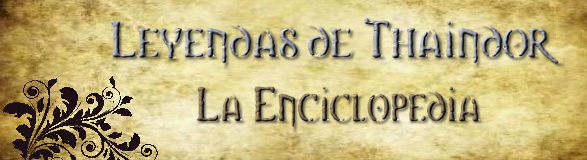 Enciclopedia de Leyendas de Thaindor