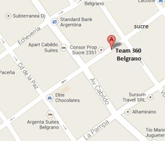 Dónde estamos - Sede Belgrano