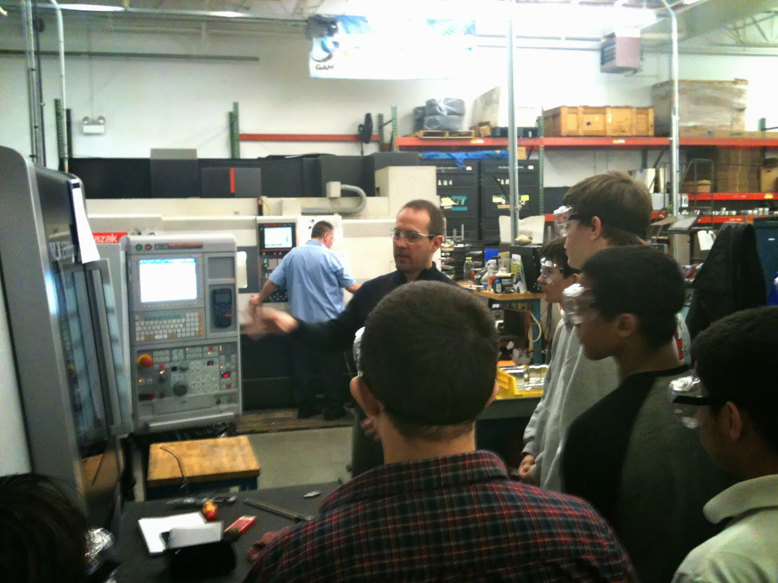 High School Students Tour GAM Manufacturing