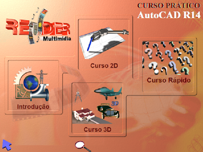 CURSO INTERATIVO PRÁTICO AUTOCAD R14