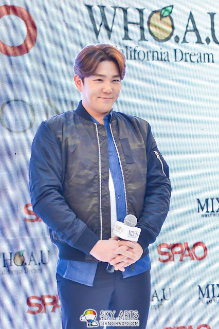 KangIn @ SPAO Malaysia Launch in PavilionKL
