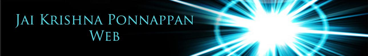 Jai Krishna Ponnappan Web