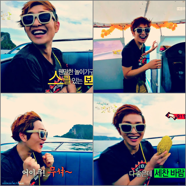 Shinee's Wonderful Day episode 9 Onew image