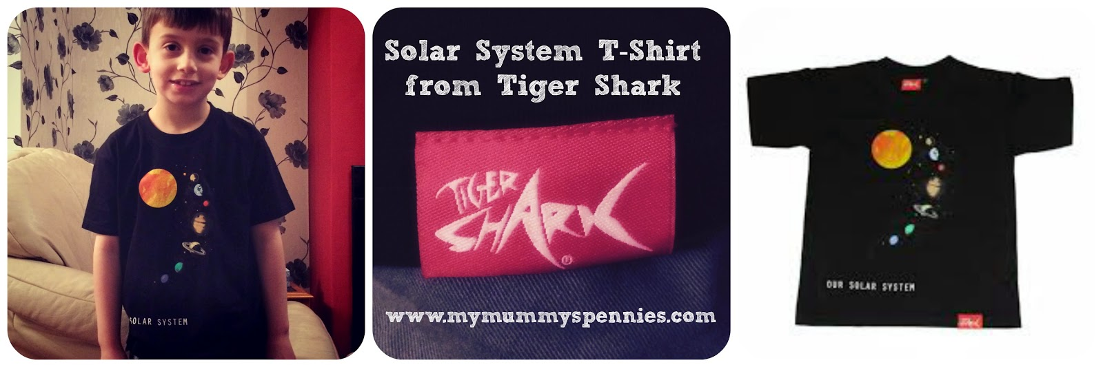 Solar System T-Shirt from tiger shark