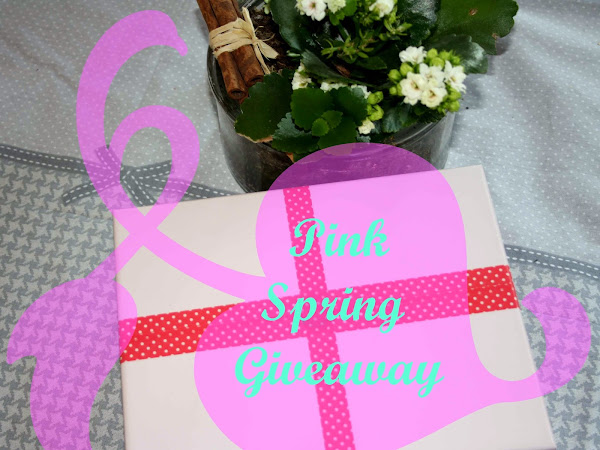 Pink Spring Giveaway - CLOSED!