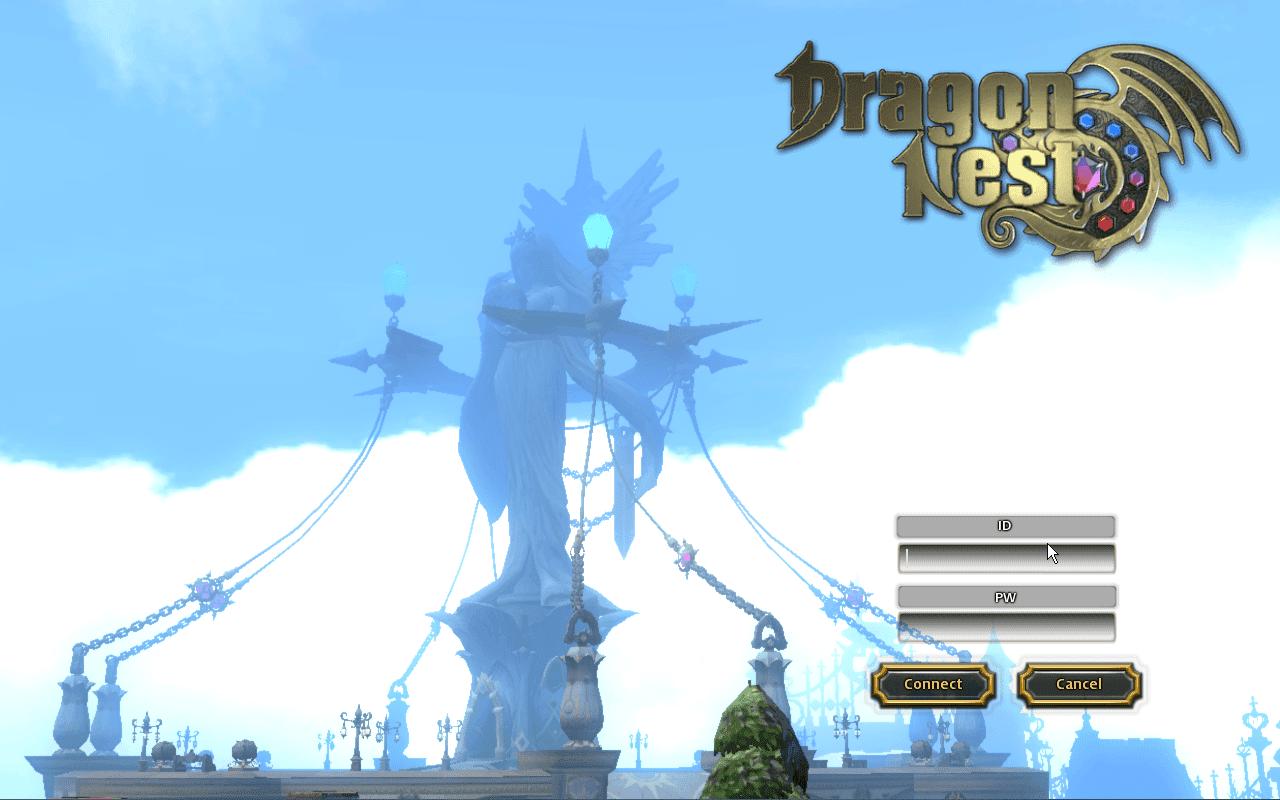 Google themes dragon nest - Dragon Nest Na Log In Screen