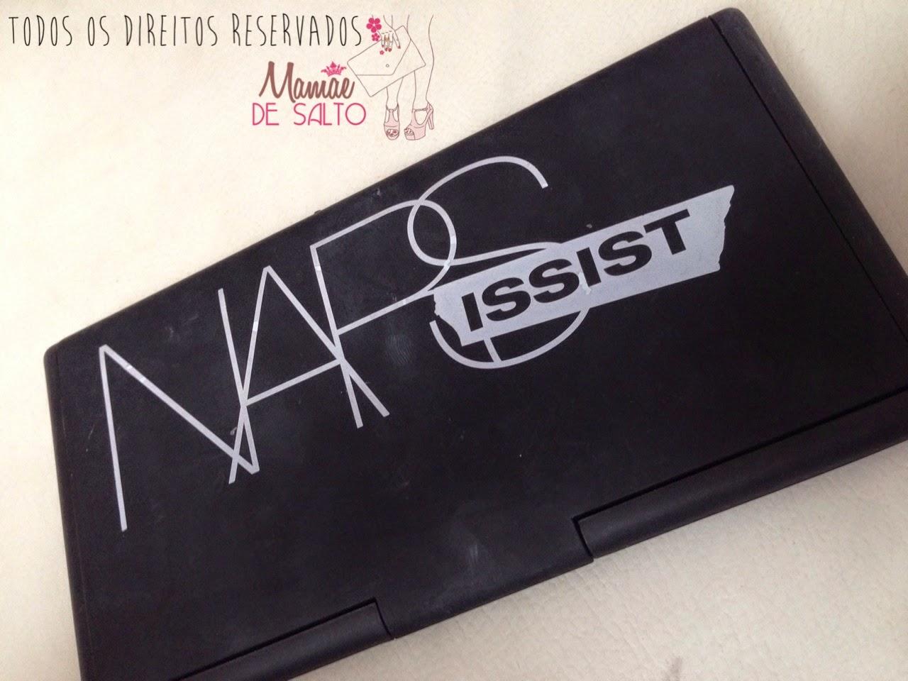 Paleta de sombras NARS NARSissist / blog Mamãe de Salto