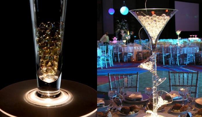 Under Vase Wedding Lights Create the hidden effect Popular