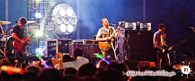 Kings of Leon, BBK Live 2013, BBK live, Bilbao BBK, Anillo Festivalero