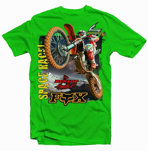 motocross tshirt design