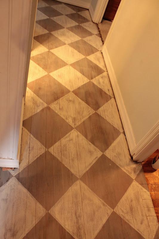 Vanhook Co Annie Sloan 39 S Chalk Painted Floor