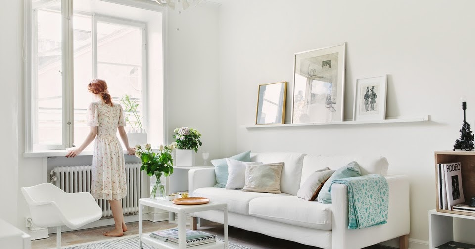 A pretty Stockholm space in pastels