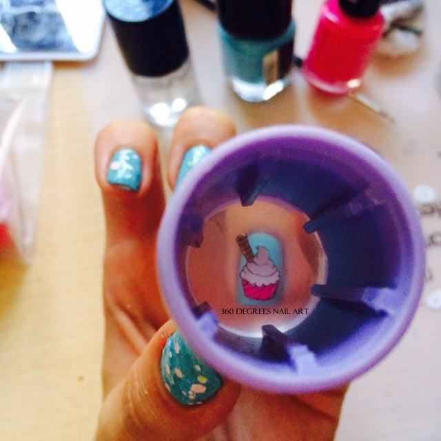 360 Degrees Nail Art: CLEAR JELLY STAMPER