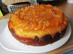 Zupfkuchen mit Mandarinen-Topping