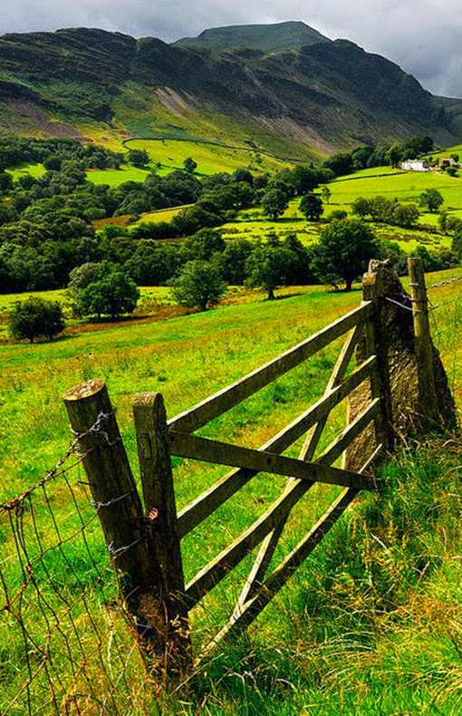 Newlands Valley, Cumbria, England
