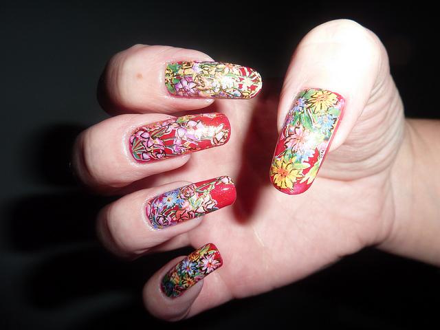 Christmas Nail Art Designs -17