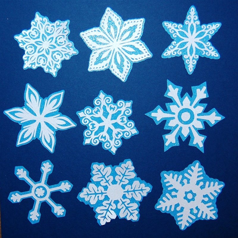 Capadia Designs: 'Tis the Snowflakes