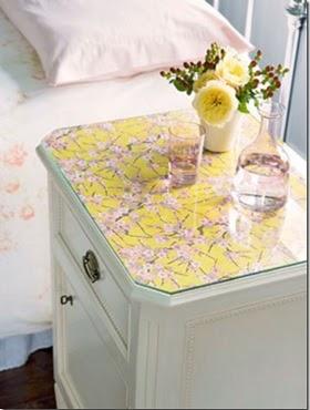 Vintage home decora tu cuarto con estas mesas de luz for Decoracion mesitas de noche
