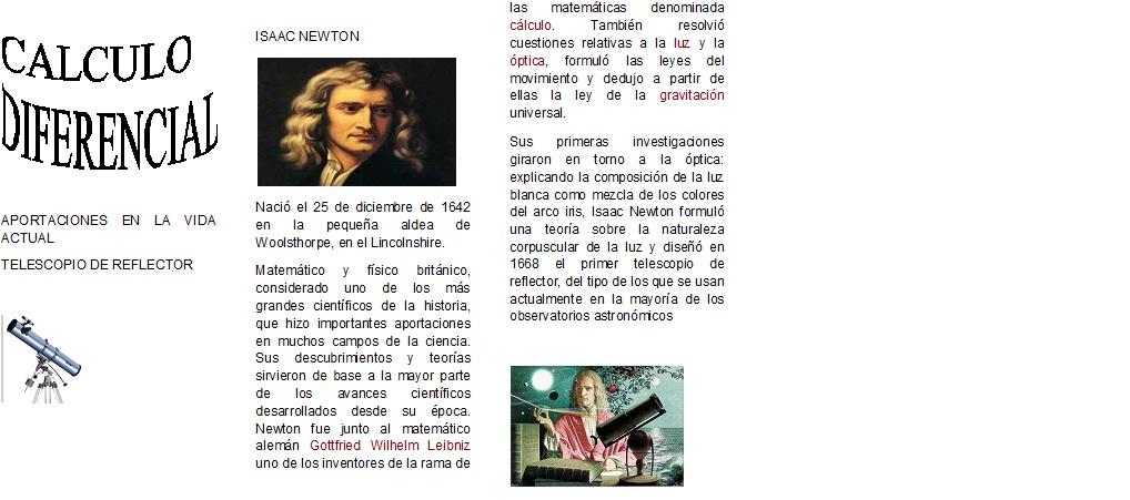 newton importantes isaac mas teorias por en calculodiferncialkenia 1518 comentario 1 publicado - Isaac Newton Lebenslauf