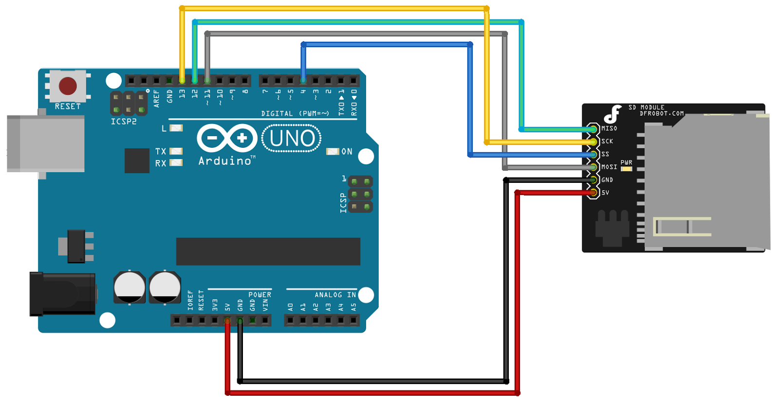 Tweaking4Allcom - Arduino Ethernet - Pushing data to