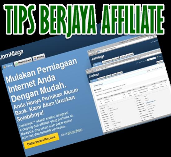 Panduan Blogger - Tips Berjaya Affiliate di Blogspot