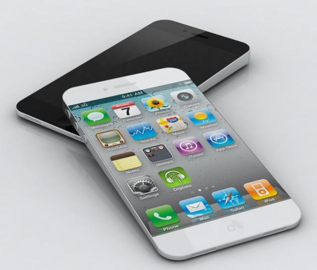 picture of concept of iPhone 5s