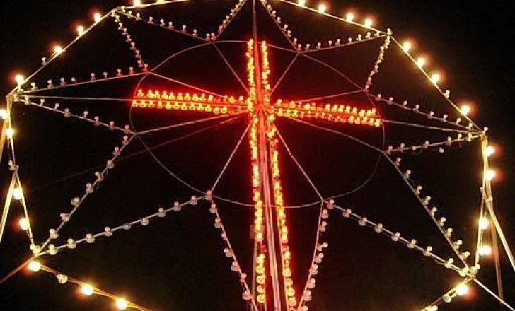 La estrella de navidad brilla en Boconó
