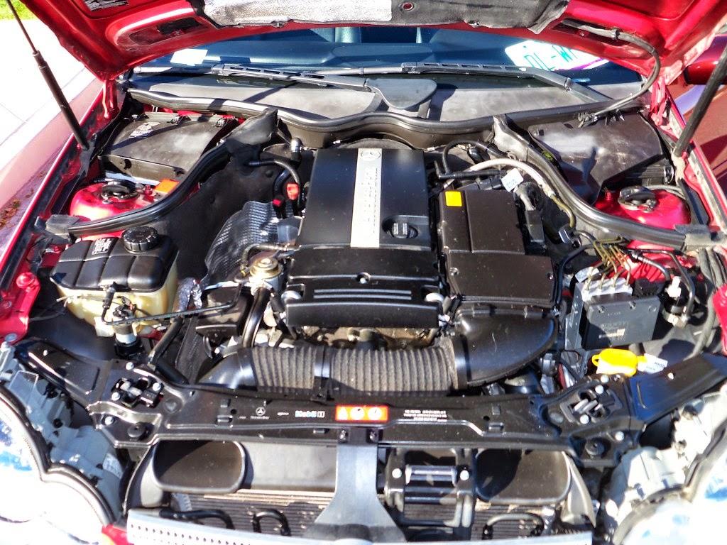 Mercedes benz cl203 c230 kompressor sportcoupe benztuning for Mercedes benz c230 engine