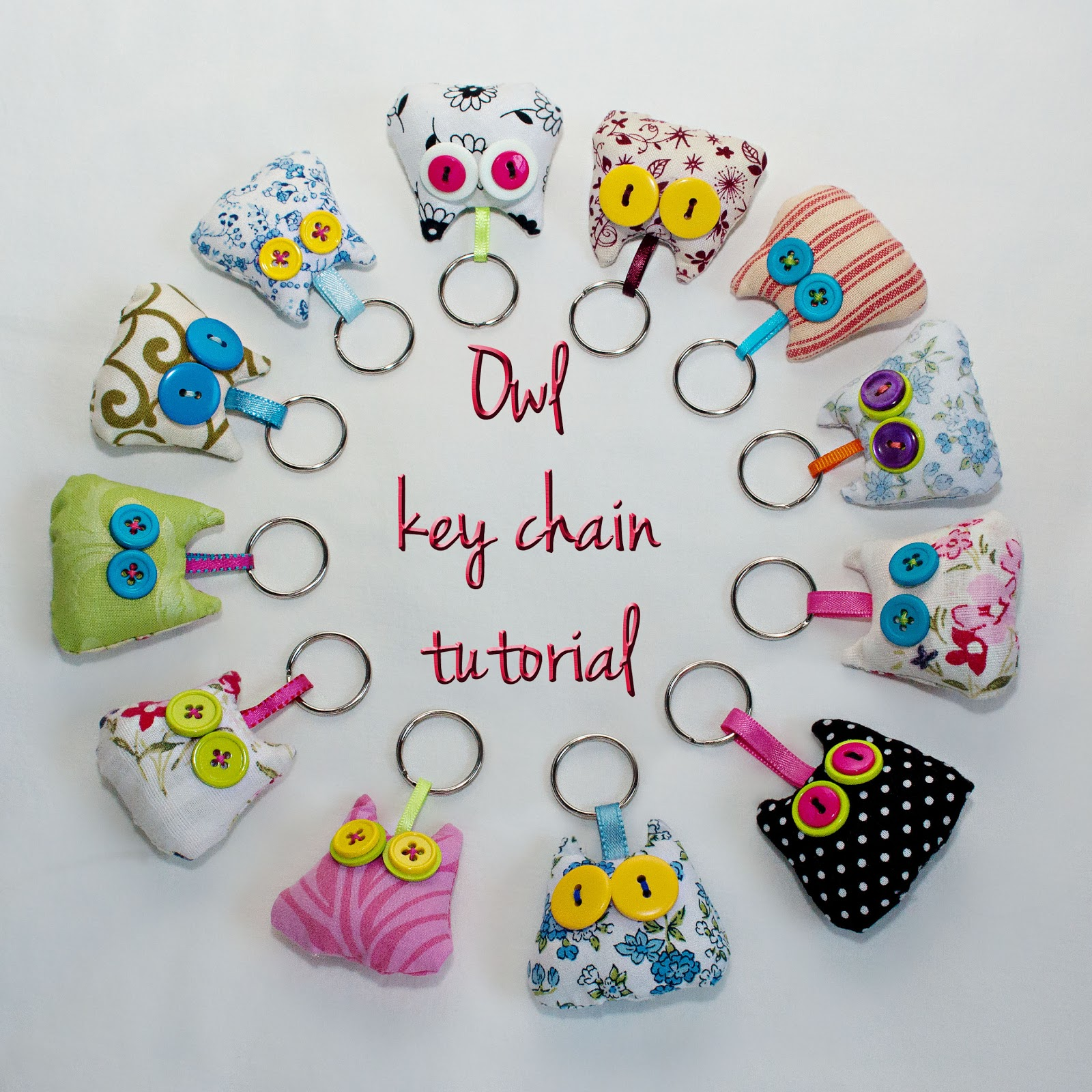 Key Ring Normal And Big Dotty Beanie Boo