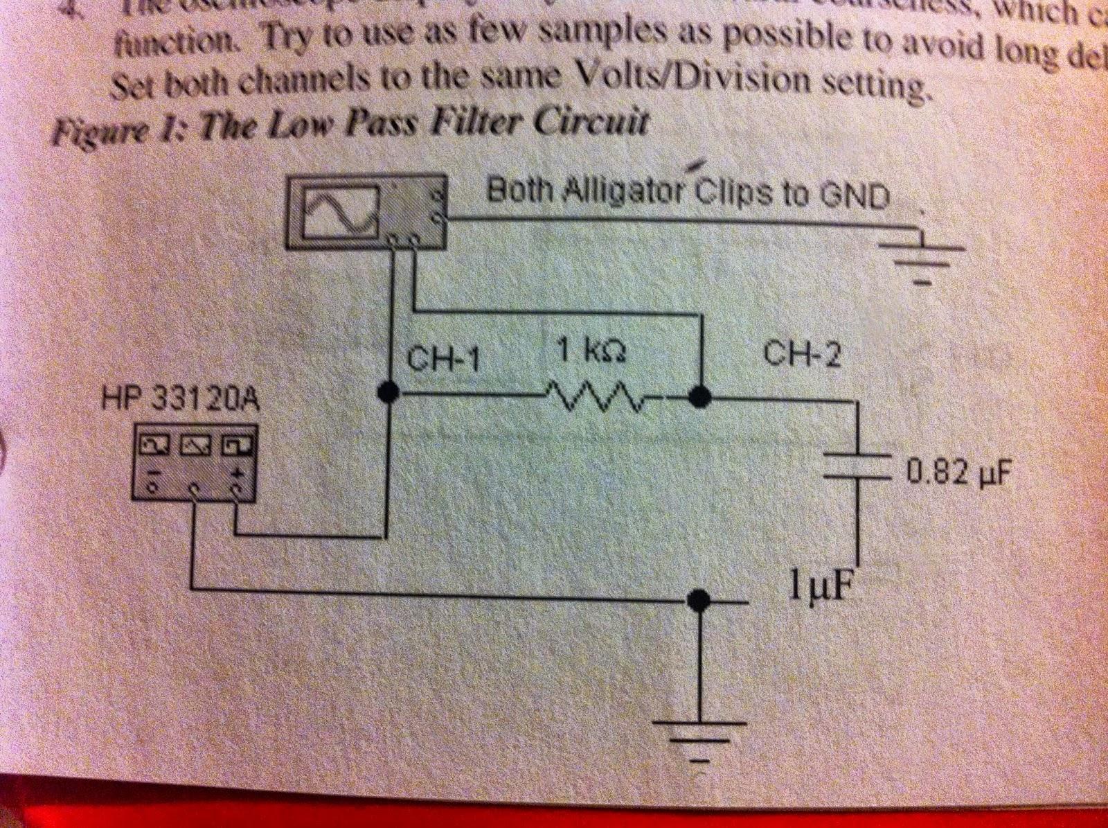 Pgill Engi 44 Labs Frequency Response Circuit Set Up